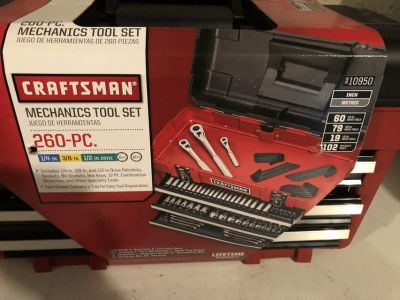 260 Piece Craftsman Mechanics Tool Set