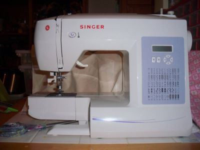Singer electronic sewing machine (Brilliance)