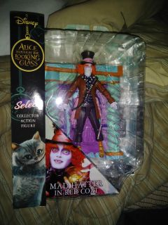 """Mad Hatter in Red Coat 7"""" Figure"""