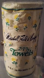 Marshall Field & Company brand labeled paper towels