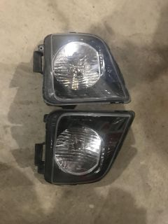 2009 Ford Mustang headlights