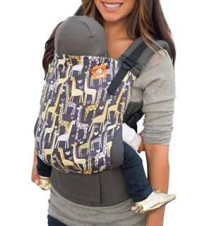 Neutral print Tula carrier in Spotted Love print. Excellent condition. Also includes teething pads