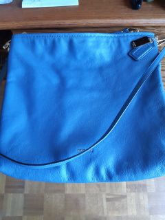 Coach - slate blue - never used - new !