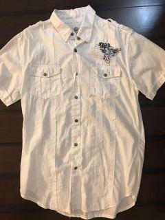 Guess Fast & Fury dress shirt. Small. White.