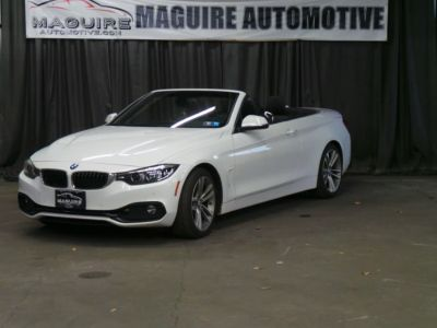 2018 BMW 4 Series 430i Sport Convertible (Mineral White Metallic)