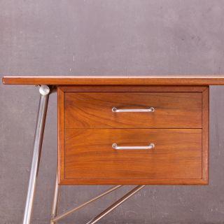 Vintage Mid-Century Danish Teak Desk