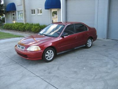 1998 Honda Civic LX (RED)