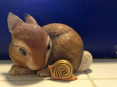 Franklin Mint bunny Slow Poke