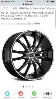 24 RIMS & Tires