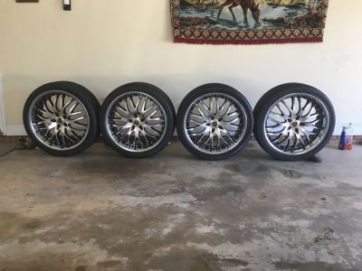 "22"" Merceli Rims/Lexani Tires 265/35ZR22, CASH Only"