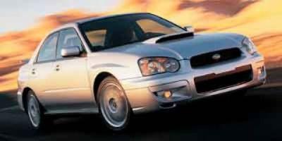 2004 Subaru Impreza WRX (Silver)
