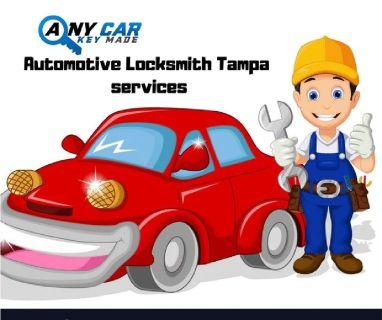 Locksmith Tampa Fastest Services | Any Car key Made