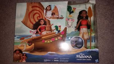 Moana boat with Projector