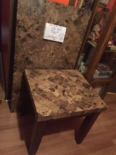 Beautiful & Heavy Coffee & End Tables Set of 3