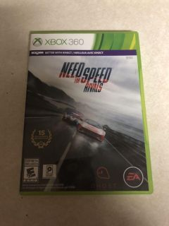 Xbox 360- need for speed rivals