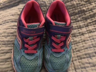 Girls Saucony Sneakers Size 13