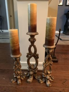 Candle Holders (candles included)