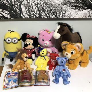 Stuffed animal lot! Price for all!