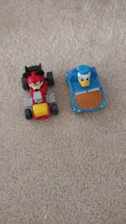 Mickey and donald cars