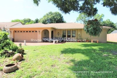 This Charming, Unfurnished, Spacious 3 Bed, 2 Bath Home is a Must See!