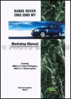 Sell Range Rover Shop Manual 2002 2003 2004 2005 Land Rover Repair Service Workshop motorcycle in Riverside, California, United States, for US $99.00
