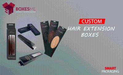 Get Your Printed Custom Hair Extensions Packaging from us
