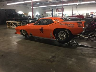 2009 Jeffers 70 Cuda rolling chassis