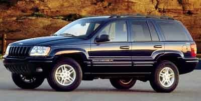 2001 Jeep Grand Cherokee Limited (Red)