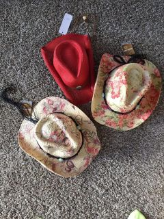 Fun Ladies Hats. New with Tags.