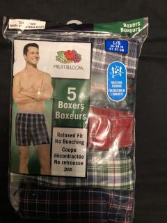 Brand new in package Boxers Large