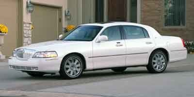 2004 Lincoln Town Car Cartier (Silver Birch Clearcoat Metallic)