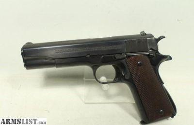 For Sale: Colt 1911 A1 Commercial Pre WWII
