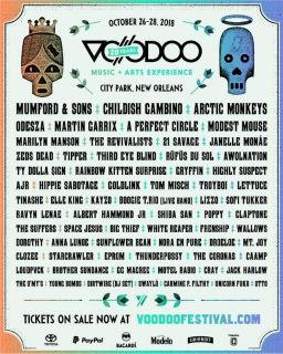 VOODOO MUSIC FESTIVAL - 3 Day Admission!!