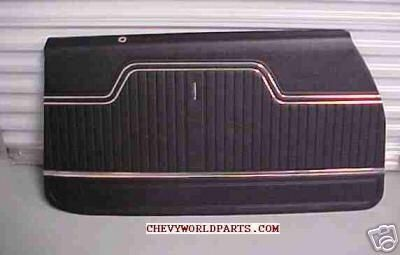 Buy 1970 1971 1972 CHEVELLE PREASSEMBLED FRONT DOOR PANELS motorcycle in Bryant, Alabama, US, for US $189.95