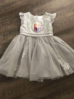 Frozen holiday dress size 4t