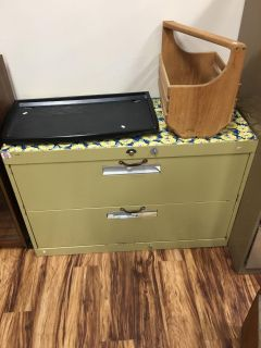 Filing cabinet - Marcus Pointe Thrift Store