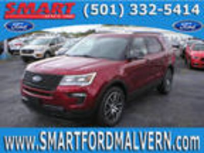 2018 Ford Explorer Red, 20 miles