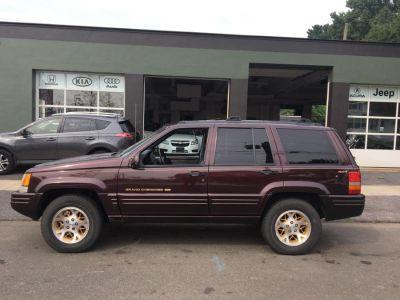 1996 Jeep Grand Cherokee Limited (Burgundy)