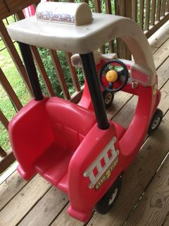Cozy Coupe style Step 2 kids Firetruck like Little Tikes