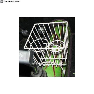 Zvw1010WH. Tunnel Basket, Bug All Years, White