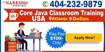 Core Java Classroom Training in Dallas, US - NareshIT