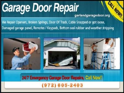#1 Quality New Garage Door Installation Company in Garland, TX