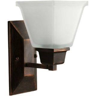 North Park Collection 1-Light Venetian Bronze Wall Bracket
