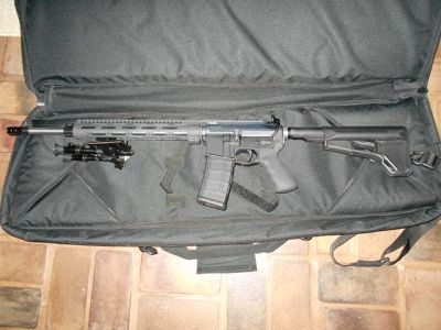 $1,100, AR-15 Custom Heavy Barrel New Unfired
