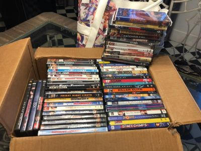 DVDs-20.00 for all