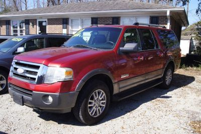 2007 Ford Expedition EL XLT (Red)