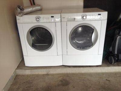 Washer &Electric Dryer. Kenmore both are in great working conditions