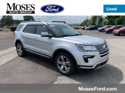 2018 Ford Explorer Platinum (Ingot Silver Metallic)