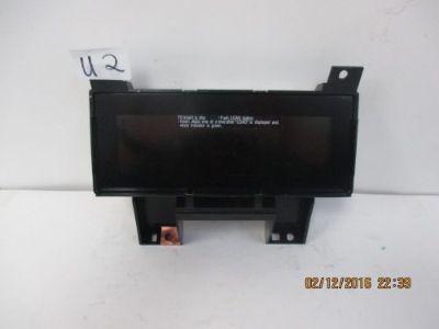2007 10 Nissan Maxima Altima Q45 FX35 Sirius  Sat Antenna 999U9 VS001