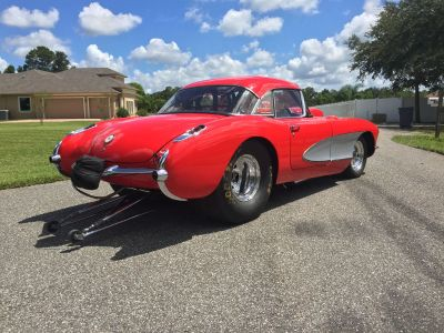 1956 CORVETTE 8 SECOND PRO STREET CAR